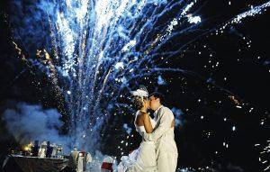 Свадебный салют